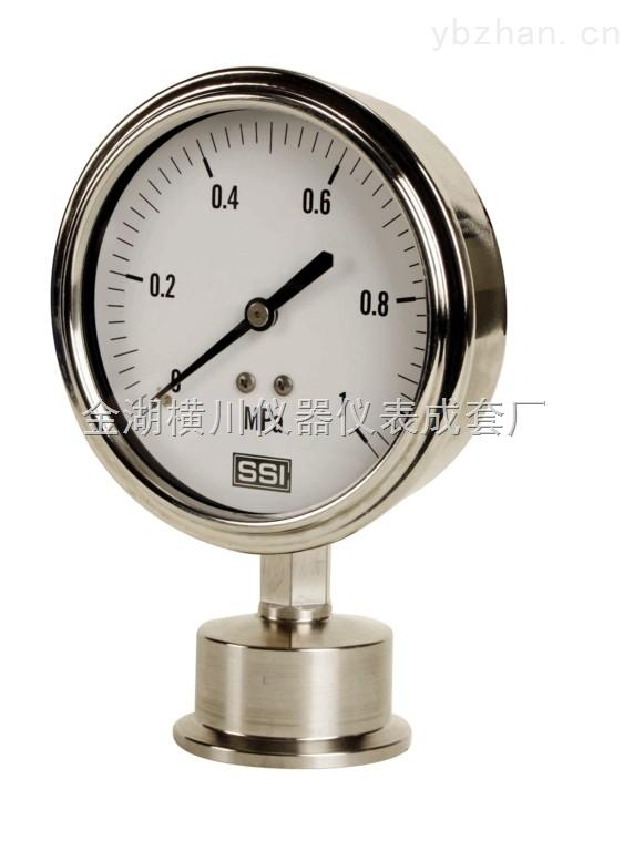 HC-HLVL-不锈钢压力表