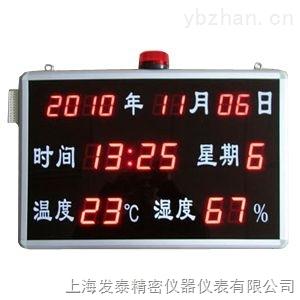 温湿度显示屏(带超限、紧急报警)