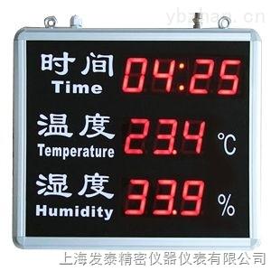 时间温湿度显示屏