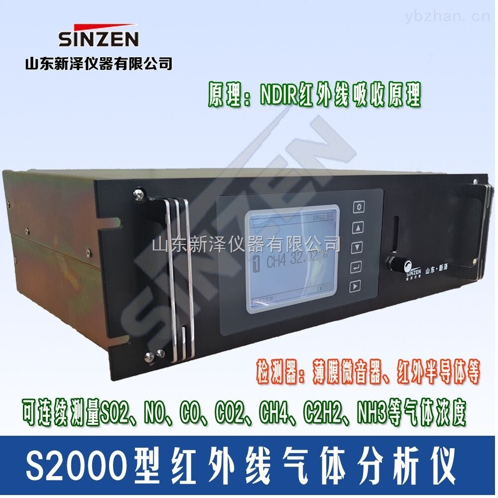 S2000型-石油化工紅外線氣體分析儀介紹