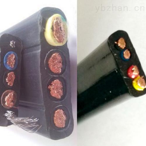 扁平软电缆YCFB-4*70mm2