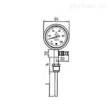 高精度工业压力式温度计