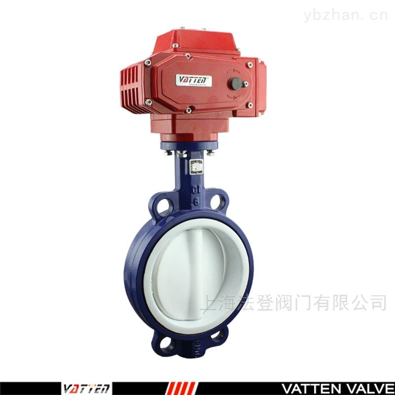VT1AEW13A-D971電動全襯耐腐蝕中線蝶閥