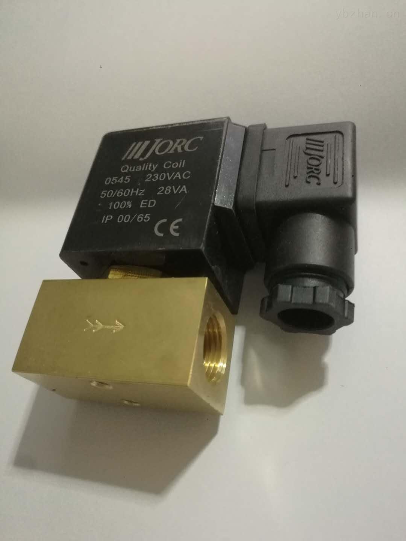 制氮机维修宝德型6014二位三通电磁阀控制进气氮气机电磁阀