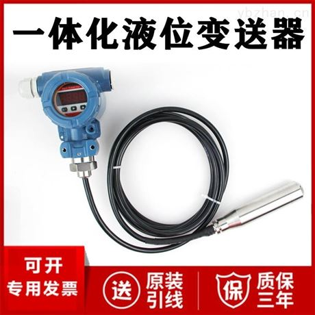 单法兰投入式液位计厂家价格 DN50 DN25