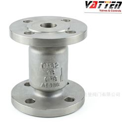H42H2205双相钢立式止回阀山东氯化铵废水单向阀