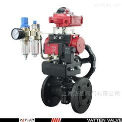 Q641F碳钢球阀山东冻干机用气动蒸汽进气阀