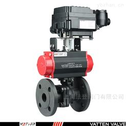 Q641F气动碳钢球阀山东气动调节型球阀