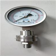 YTN-100/ML不锈钢隔膜压力表
