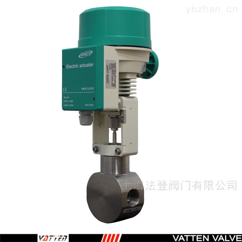 V-SLHG-A-氨氮高浓度废水电动不锈钢调节阀
