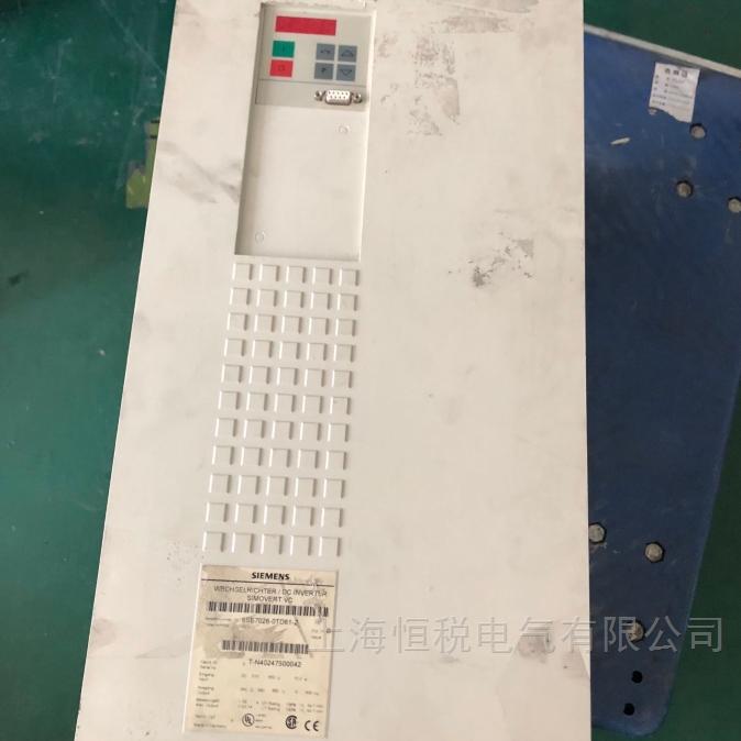 西门子6SE70变频器启动报故障专业修复公司