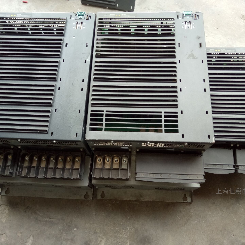 西门子G120变频器开机报过流F30001检测修复