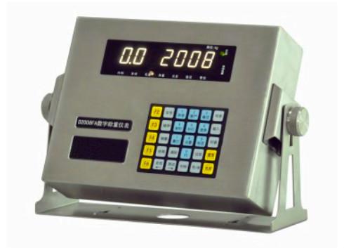 山西质监局发布电子称重仪表抽查结果 合格率100%