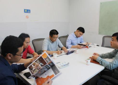 杭州市西湖区政协领导莅临兴旺宝明通考察指导
