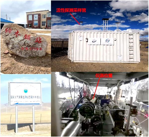 安光所在大氣OH自由基總反應性測量方面取得新進展