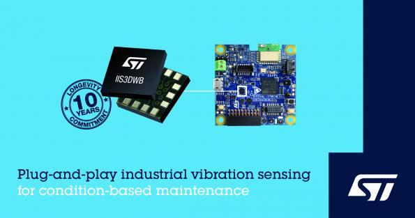 意法半導體推出用于工業監控的3軸MEMS加速度計