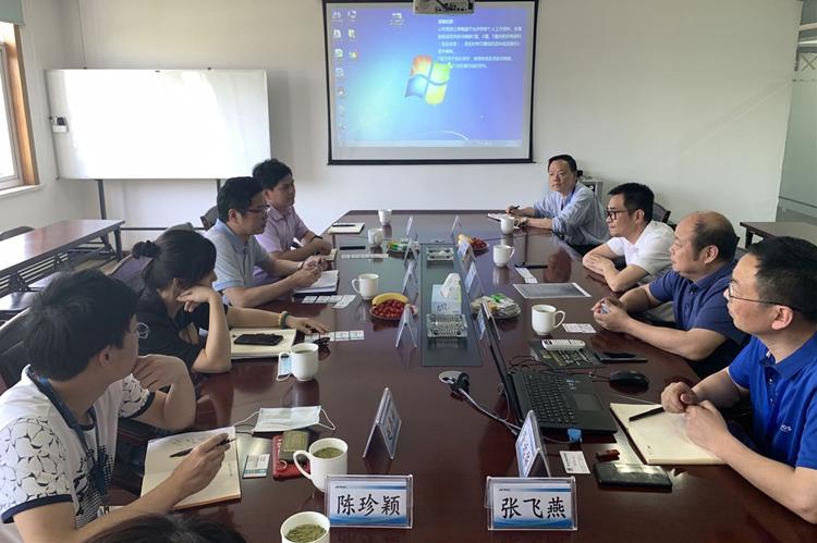 浙江省計量科學研究院副院長赴智能網聯汽車創新中心