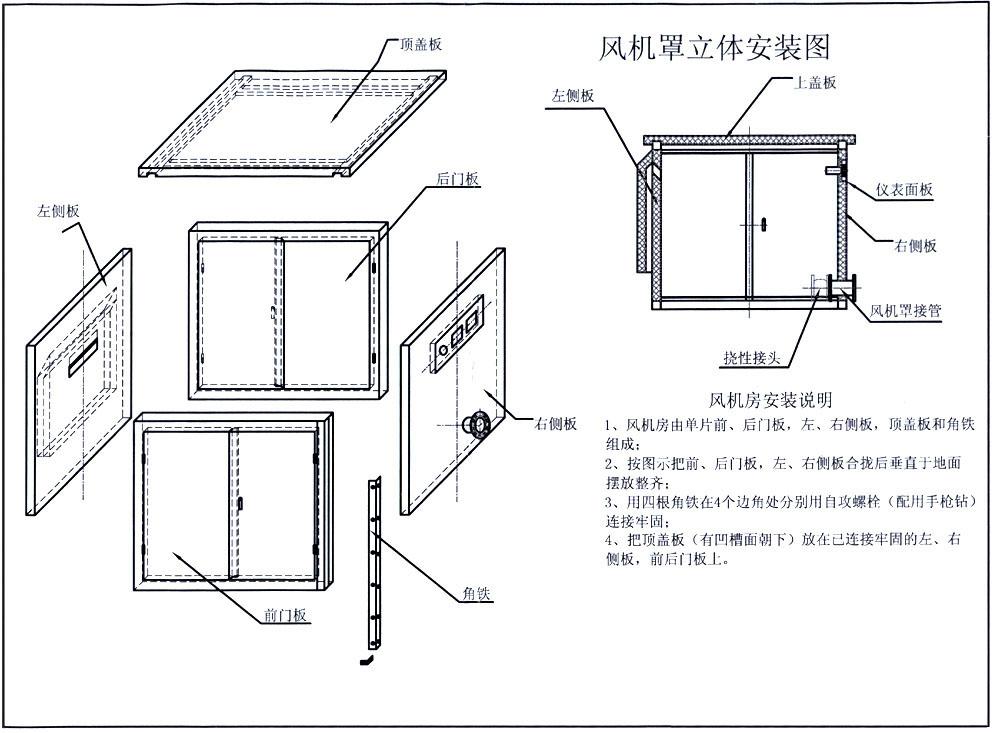 伊藤发电机隔声罩的设计