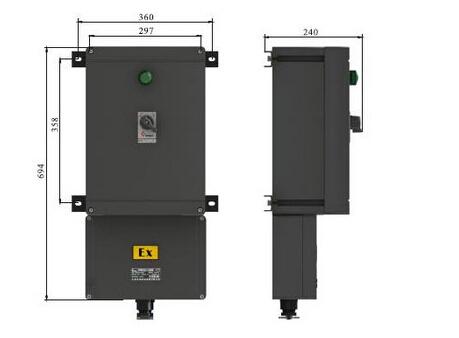 防爆防腐漏电断路器BLK8050/32防爆防腐断路器63A 防爆防腐断路器16A黑色塑壳