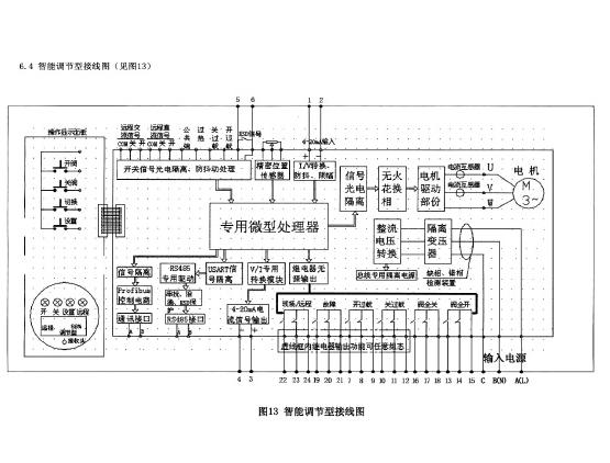 二,j941h-100c dn80 高压电动调节截止阀接线图