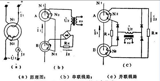 电压互感器在电路中的图形符号