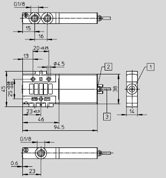 mhe3-m1h-3/2g-1/8-kfesto两位三通电磁阀德国费斯托常闭电磁阀图片