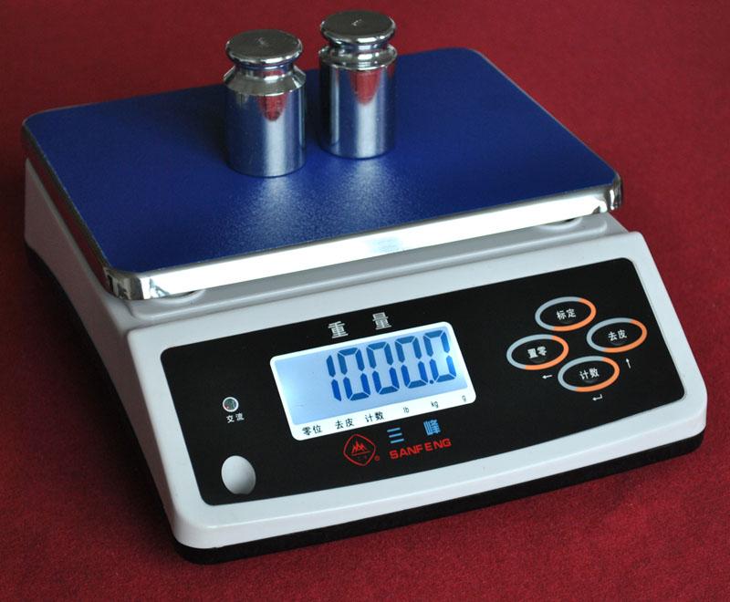 工业3kg防水桌秤/6kg误差0.2g电子称