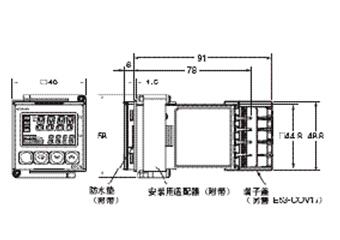 日本欧姆龙数字温控器e5cn-q2t