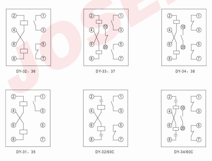 dy-31 dy-31电磁式过电压继电器
